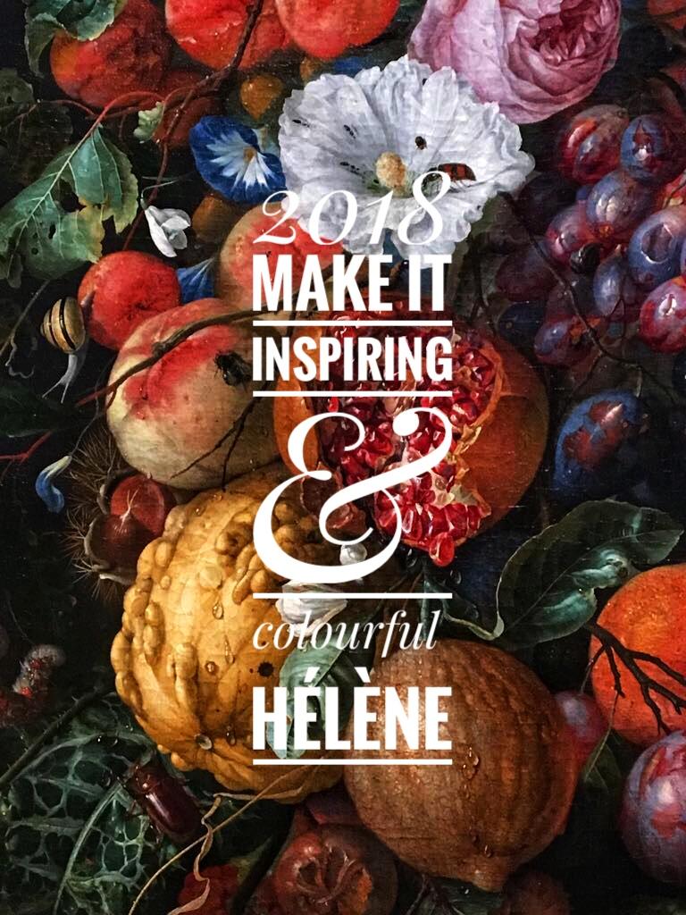 Een frivool 2018! Hélène Bergmans Design: Design & Concept