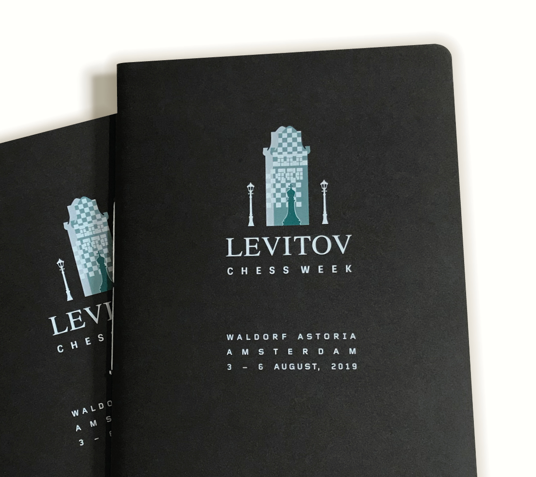 Levitov Chess Week: Eventstyle & brochure