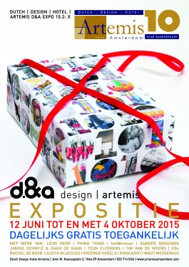 10 jaar Dutch Design Hotel, Expo X