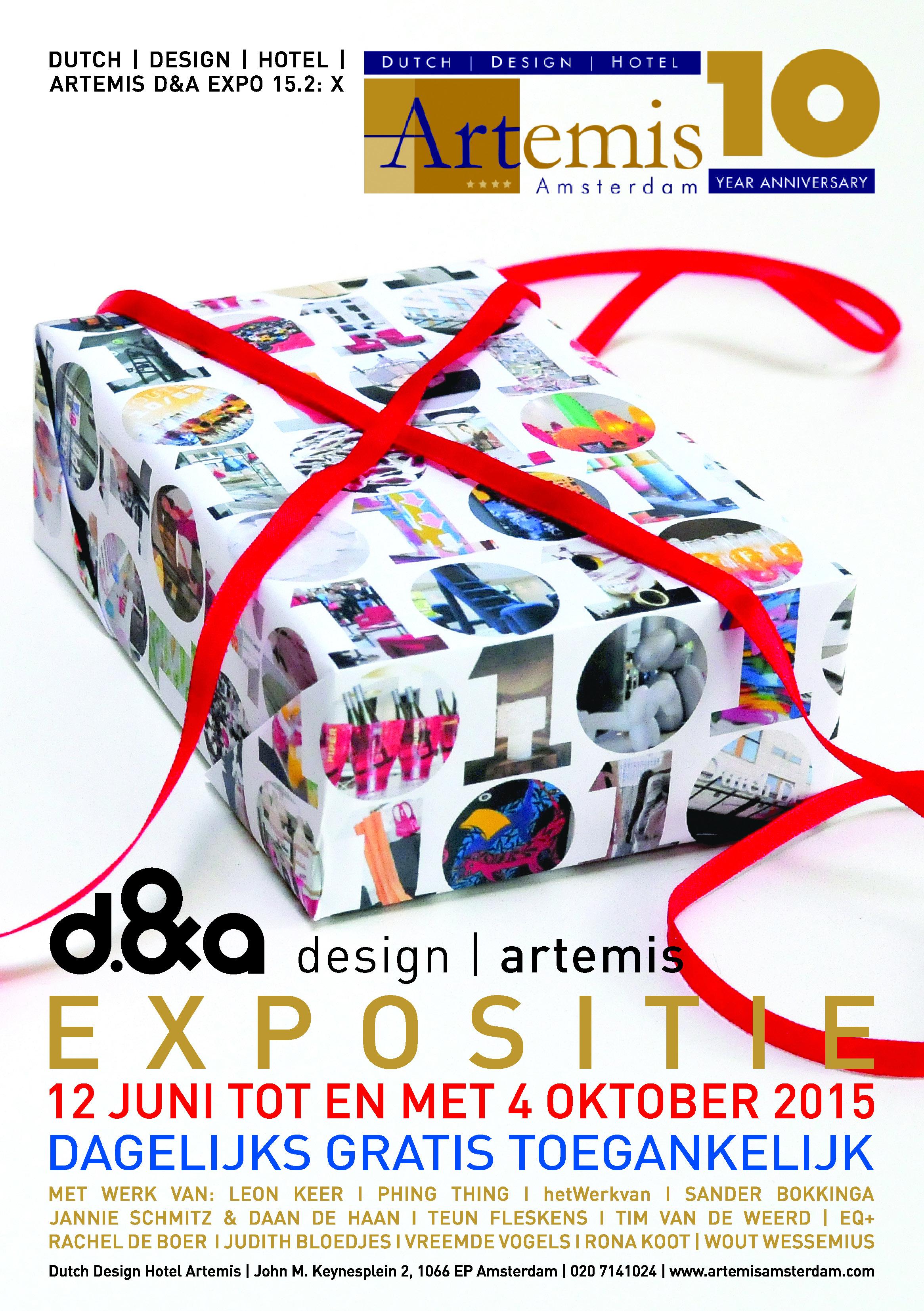 10 jaar Dutch Design Hotel, Expo X