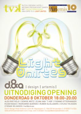 Dutch Design Hotel Expo Light Unites, Themabeeld