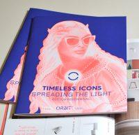 Brochure 'Timeless icons – spreading the light'voor ORBIT Lighting: Concept & Ontwerp
