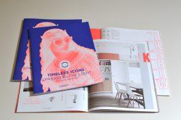 Residential Brochure 'Timeless icons – spreading the light', ORBIT Lighting: Concept & Design