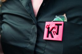 Logo 'de Kunst van het Tentoonstellen': Design