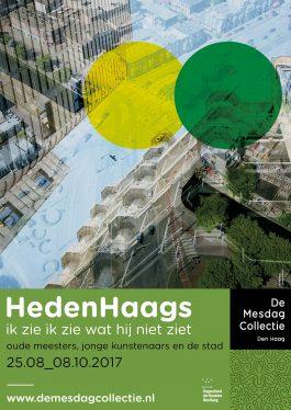 Tentoonstelling 'HedenHaags, ik zie ik zie wat hij niet ziet' in de Mesdag Collectie: Design 2D & PR-Communicatie middelen
