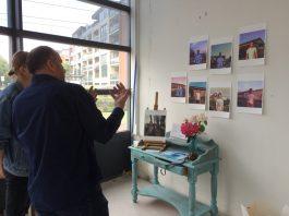 Pop-up Galerie, initiatief bij Nieuw Sloten Festival