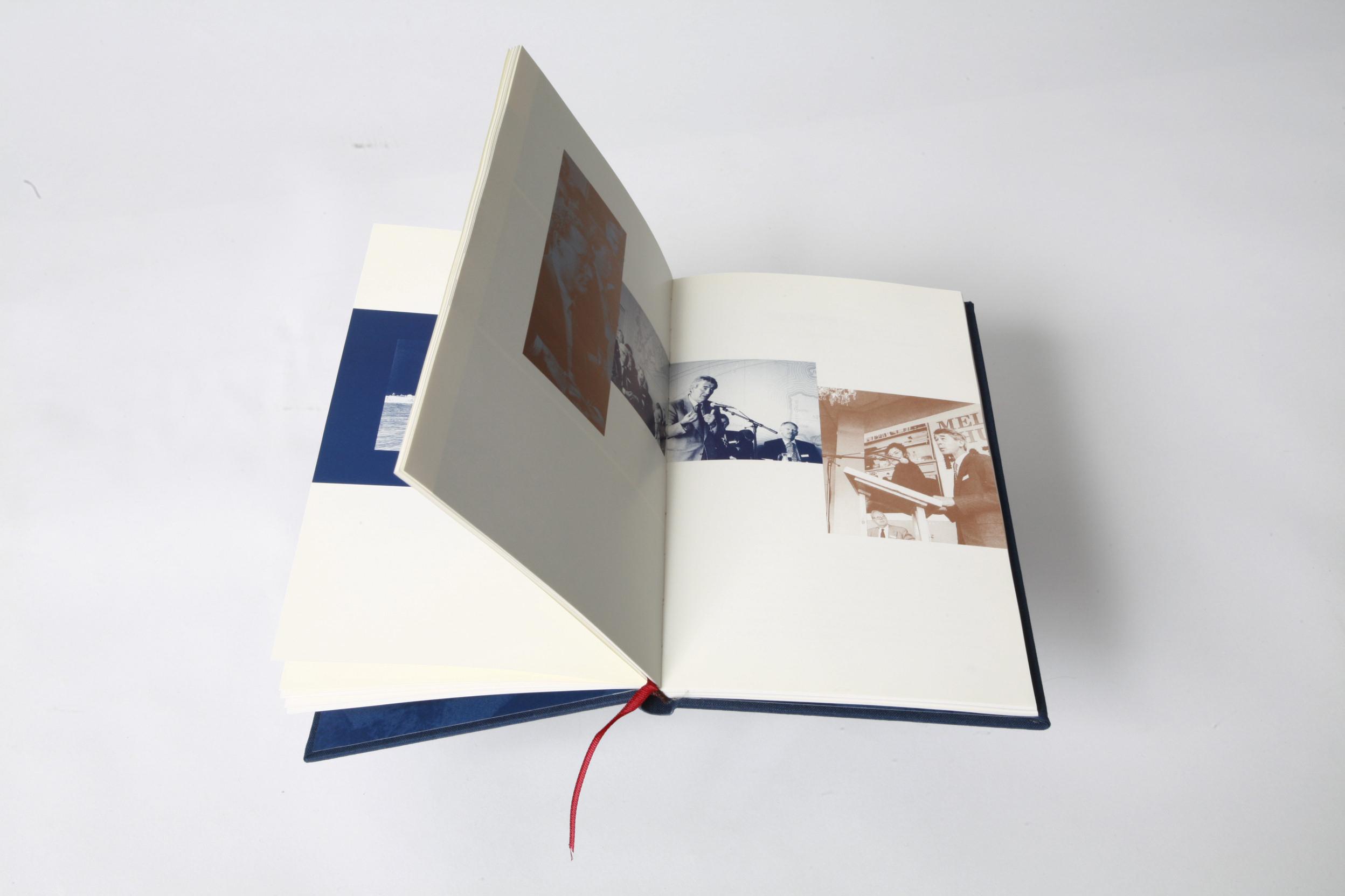 Agenda voor De Volgende Eeuw – Berenschot Symposium, Boekontwerp