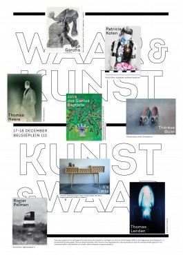 WAAR&KUNST, Initiatief pop-up galerie