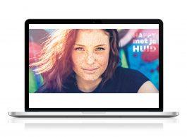 Festival 'Happy met je Huid', Huidpatiënten Nederland: Design campagne en identiteit