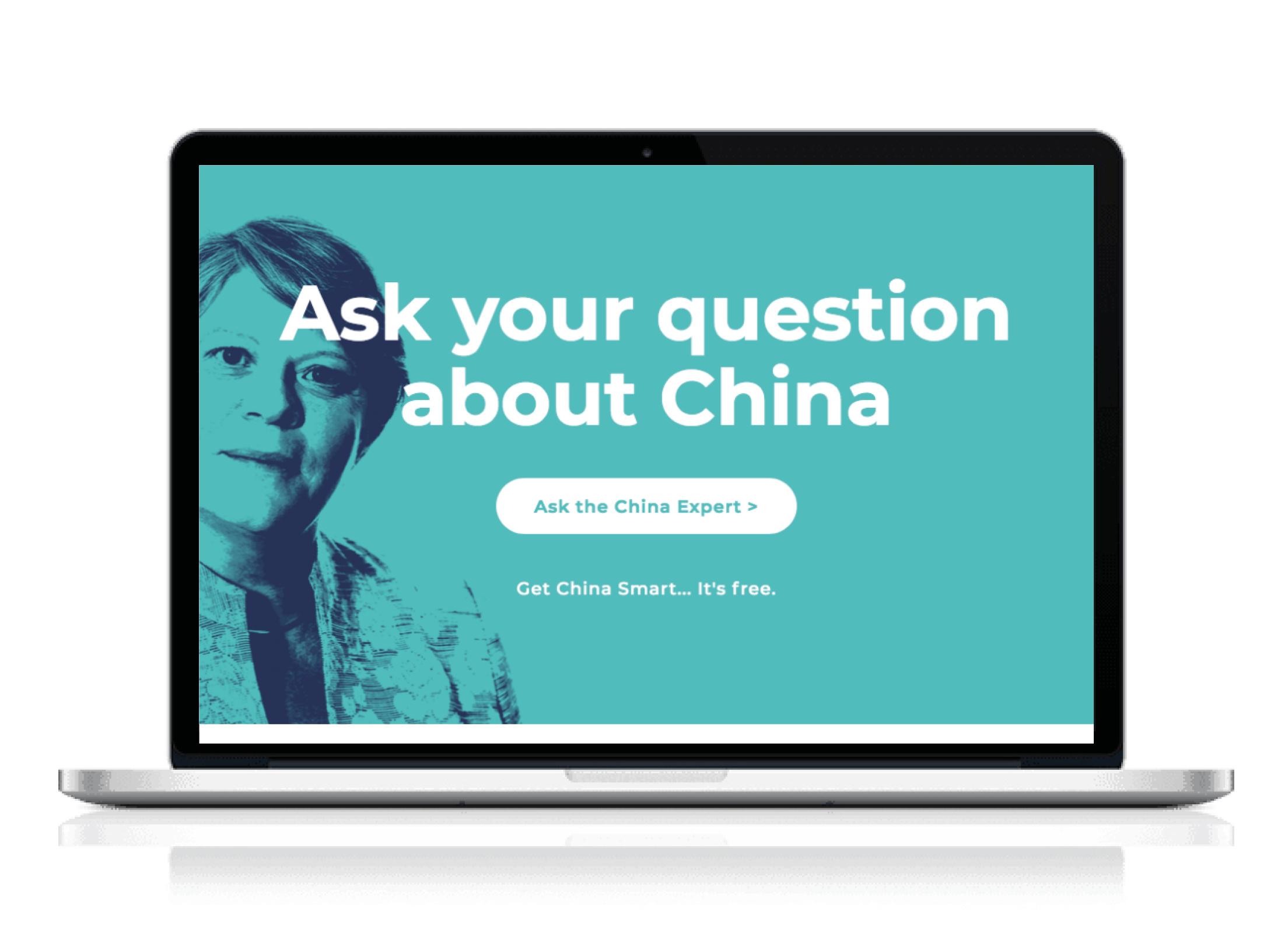 TheChinaAgenda.com: Branding & webontwerp