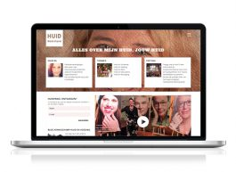 HuidNederland.com portal: Corporate Identity & Logo-ontwerp