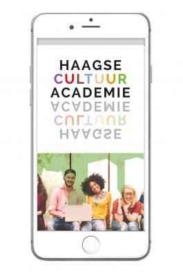 Haagse CultuurAcademie: Identiteit & Logo-ontwerp