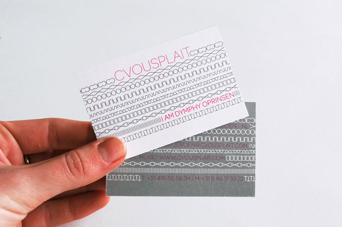 Cvousplait voor akoestiek: Corporate Identity