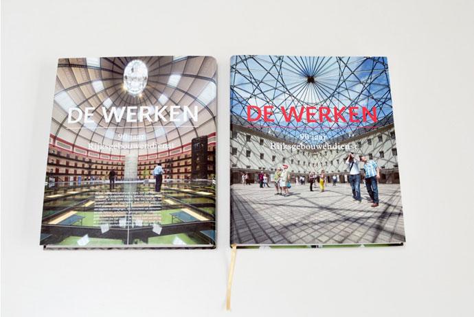 90 jaar Rijkshuisvesting 'De Werken', Boekontwerp
