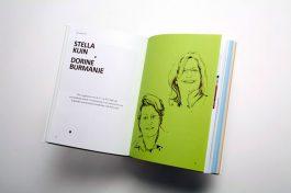 'Ronde vormen in IT': Boekontwerp
